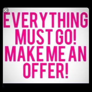 Make offers.